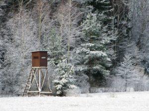 lovecké potřeby v extrémních podmínkách
